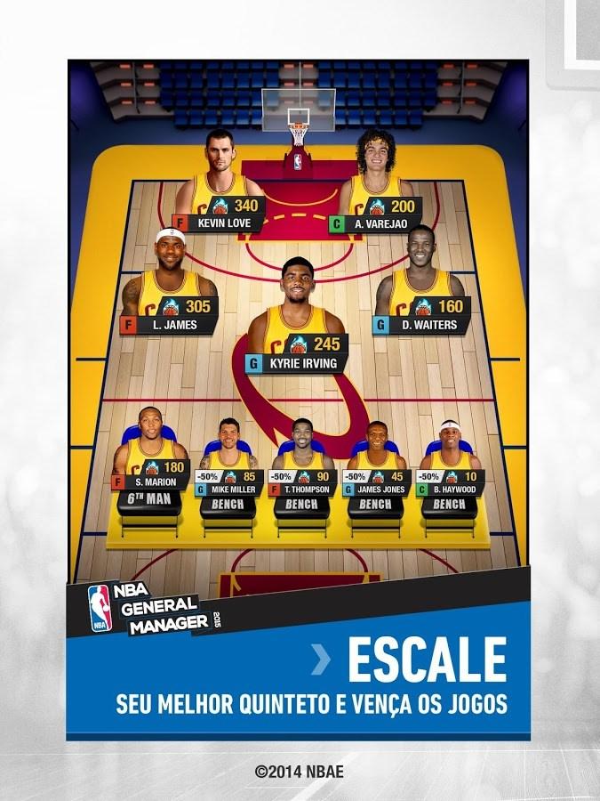 NBA General Manager 2015 - Imagem 1 do software