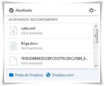 Dropbox - Imagem 2 do software