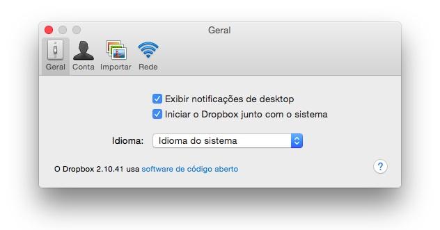 Dropbox - Imagem 4 do software
