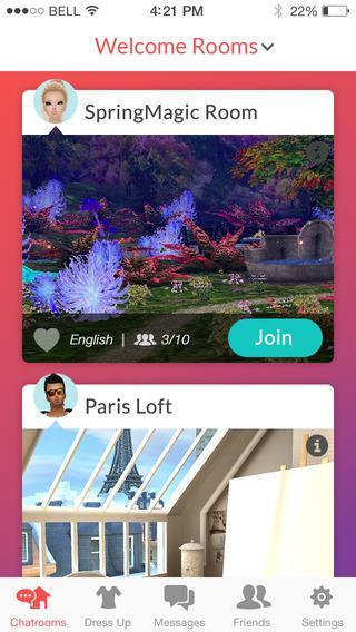 IMVU Mobile - Imagem 2 do software