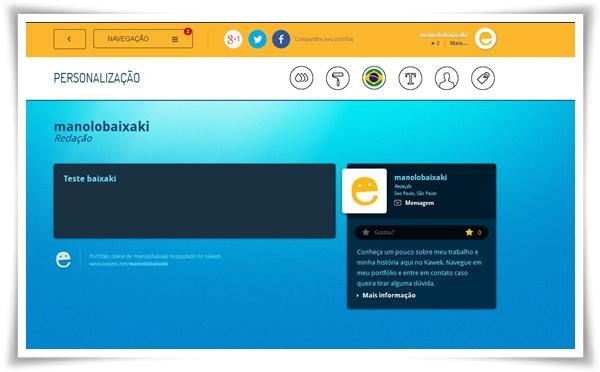 Kawek - Imagem 4 do software