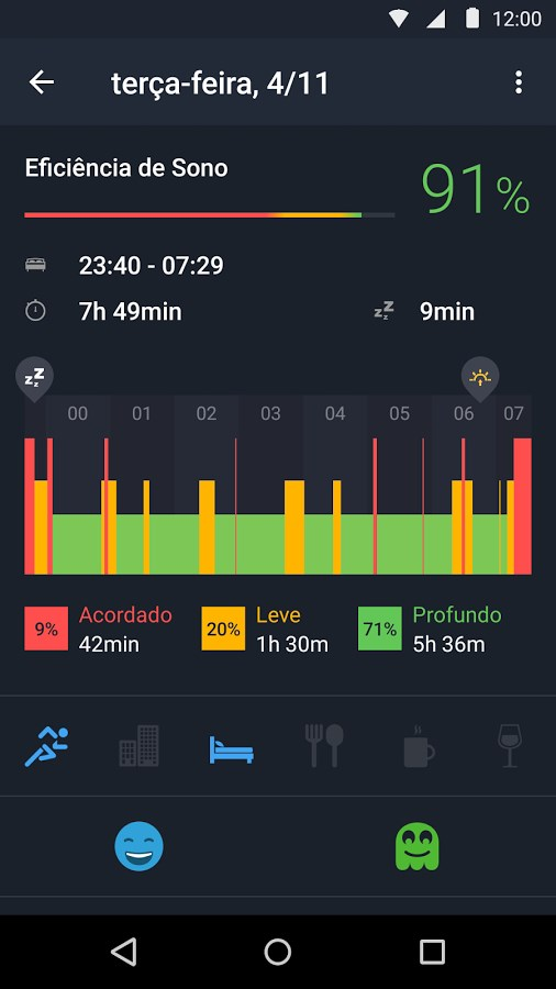Sleep Better with Runtastic - Imagem 2 do software