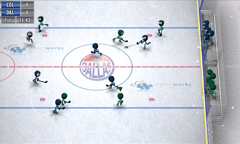 Stickman Ice Hockey - Imagem 1 do software