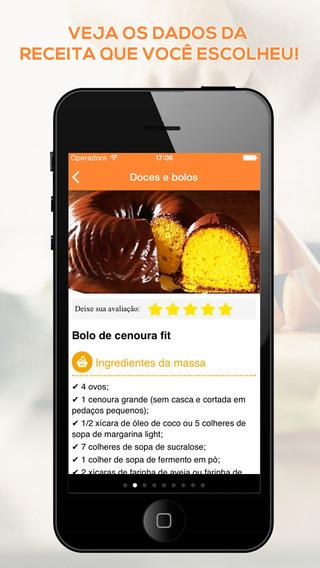 Receitas Light - Imagem 2 do software