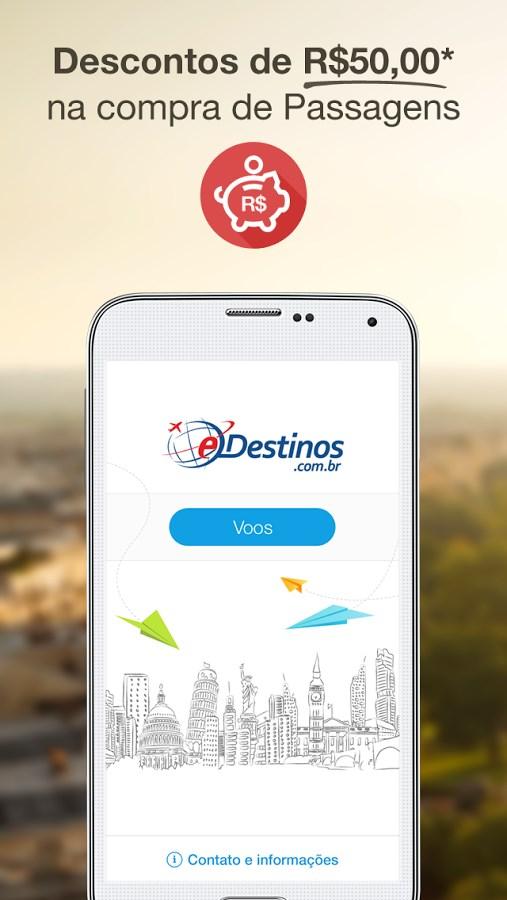 Passagens Aéreas - eDestinos - Imagem 1 do software