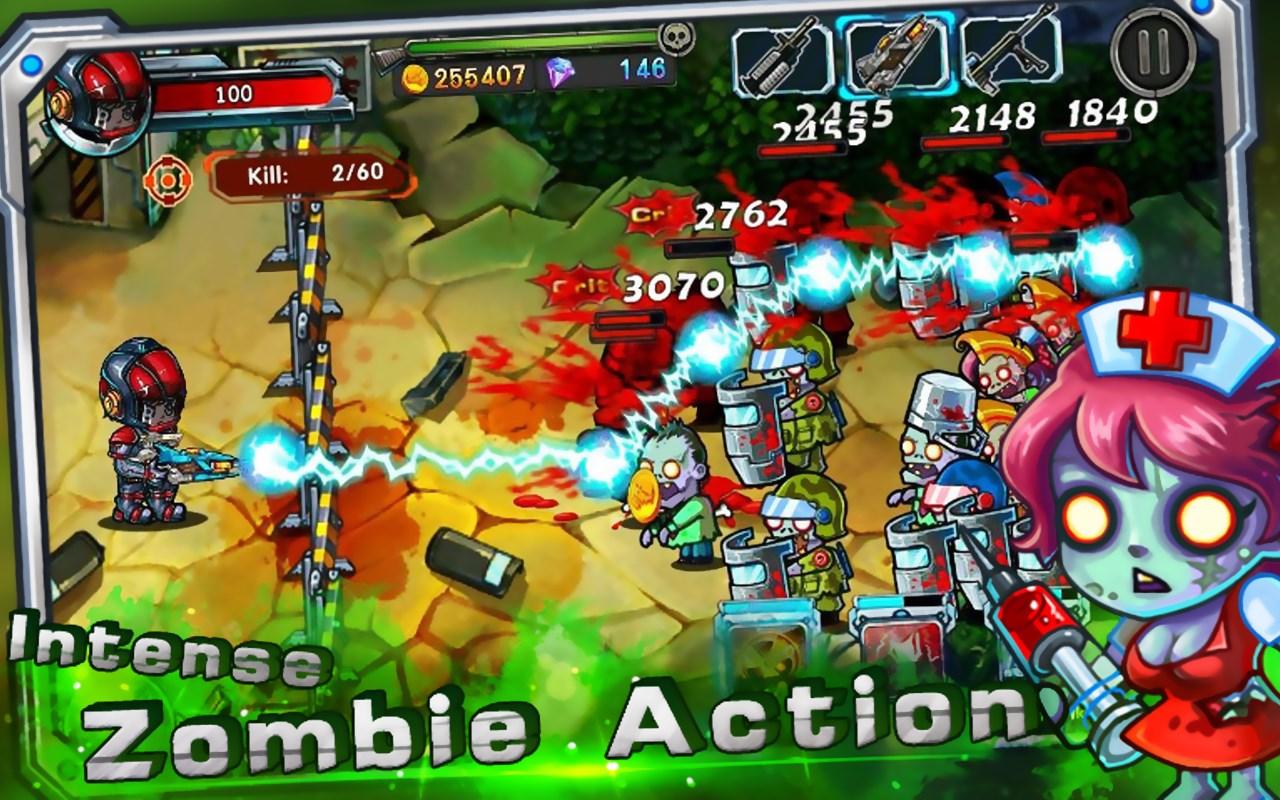 Zombie Go Ballistic: Rampage - Imagem 1 do software