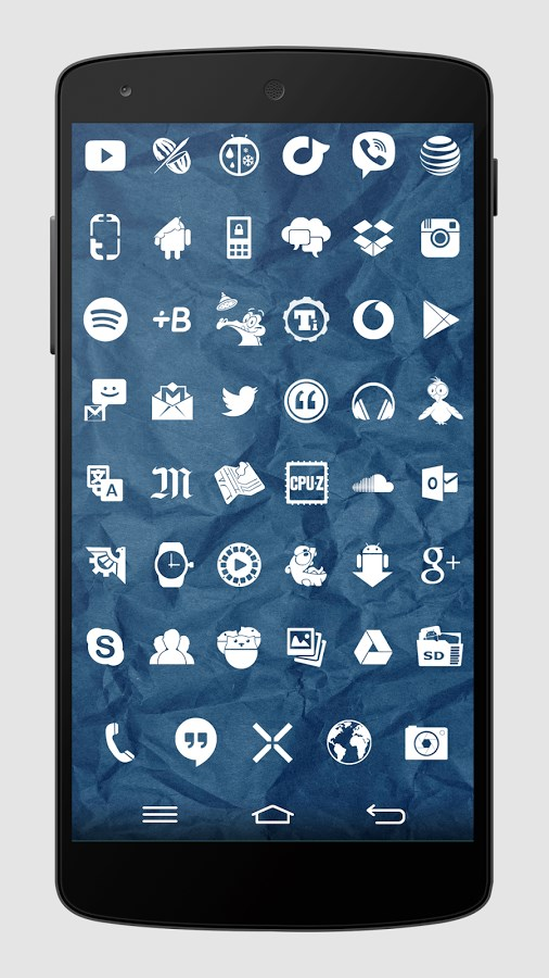 Whicons - White Icon Pack - Imagem 1 do software