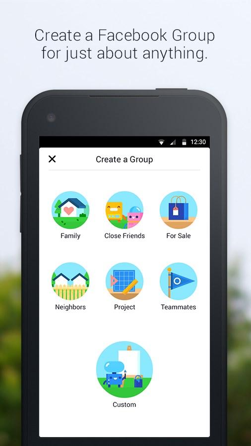 Facebook Groups - Imagem 1 do software