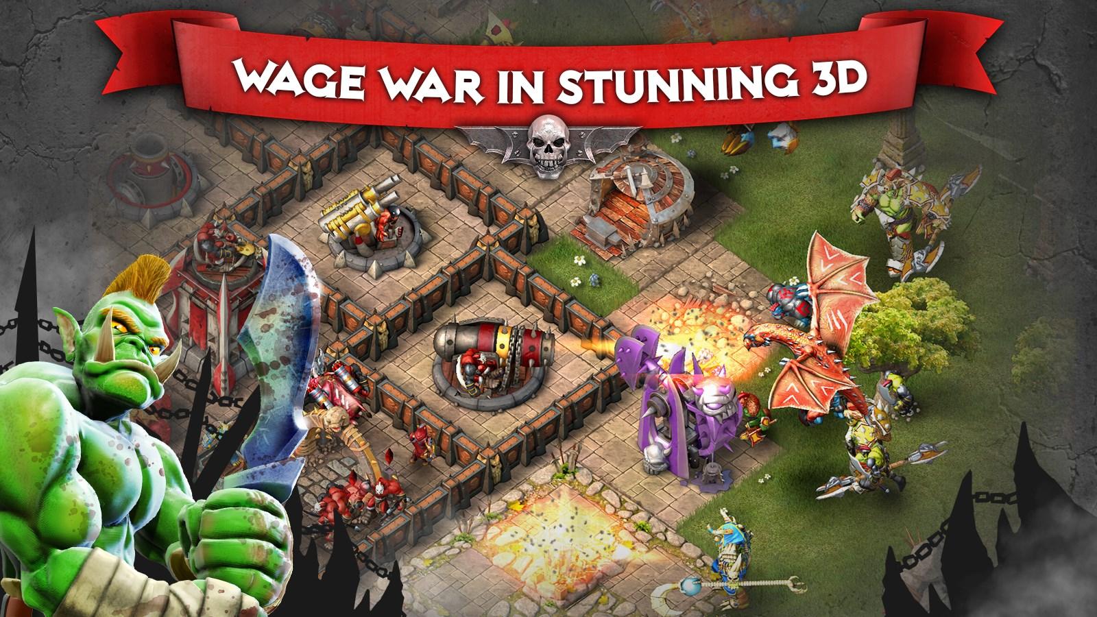 Heroes of War: Orcs vs Knights - Imagem 1 do software