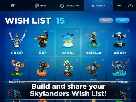 Skylanders Collection Vault™ - Imagem 1 do software