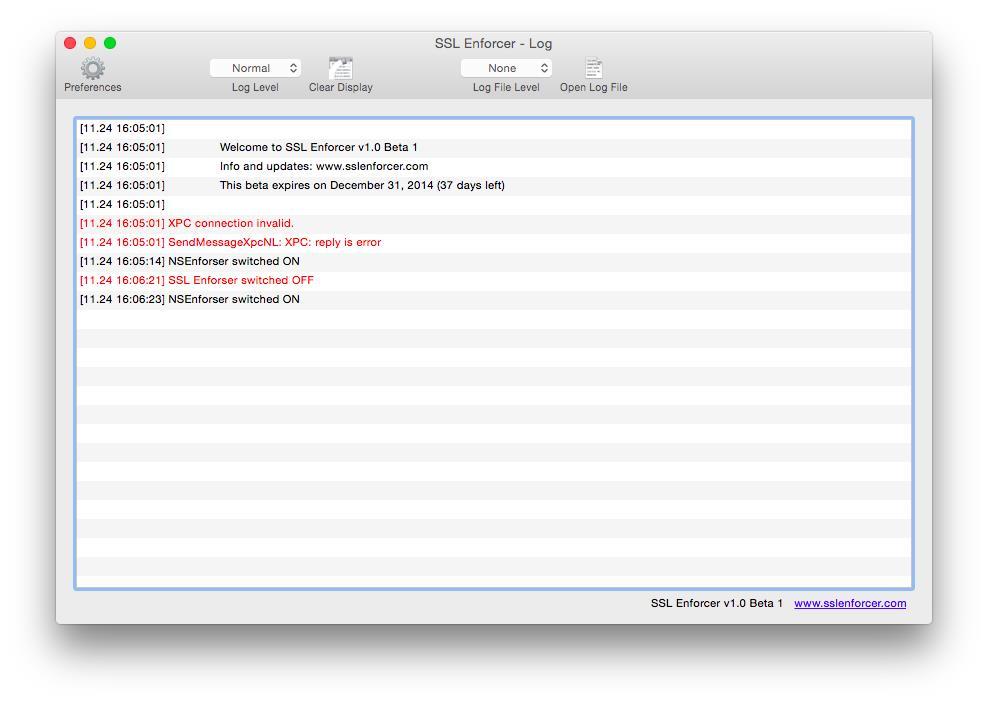 SSL Enforcer - Imagem 2 do software