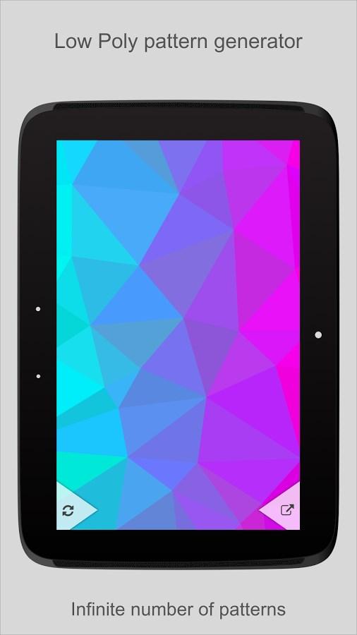 PolyGen - Wallpaper Generator - Imagem 1 do software