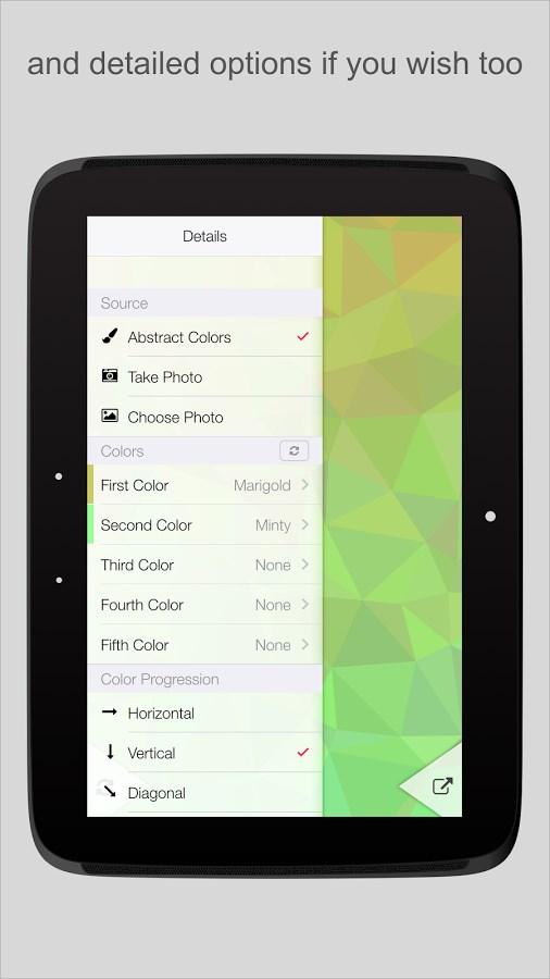 PolyGen - Wallpaper Generator - Imagem 2 do software