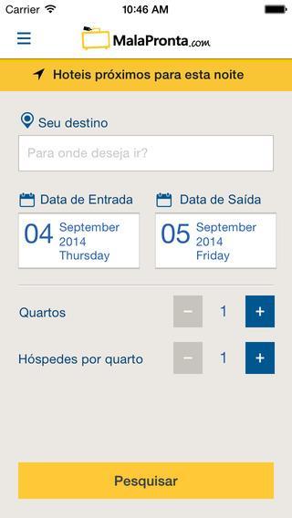 MalaPronta.com: as melhores ofertas para hotéis em todo o Brasil - Imagem 1 do software