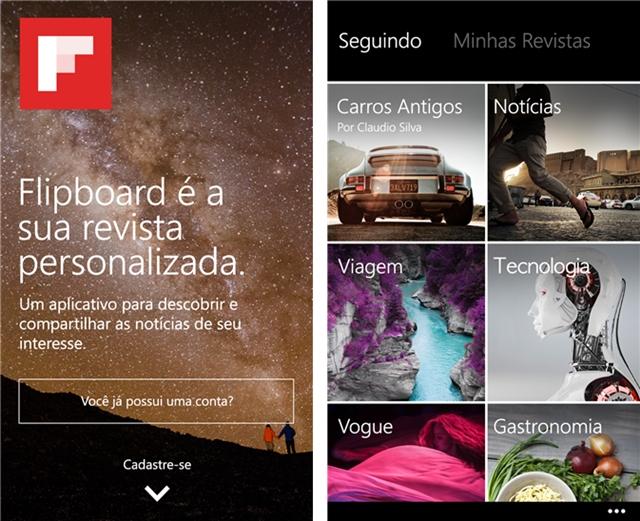 Flipboard - Imagem 1 do software