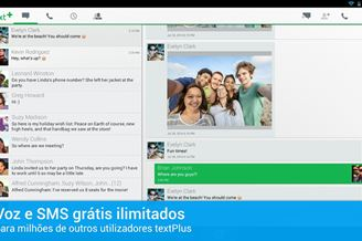 textPlus - Telefone Grátis Download para Android Grátis