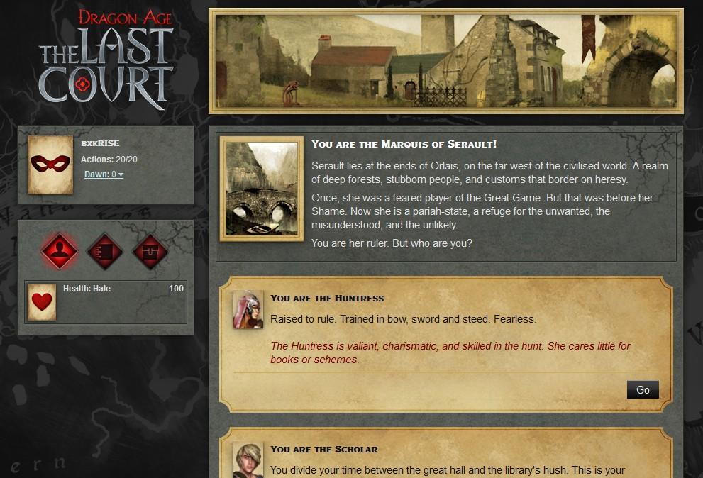 Dragon Age: The Last Court - Imagem 1 do software