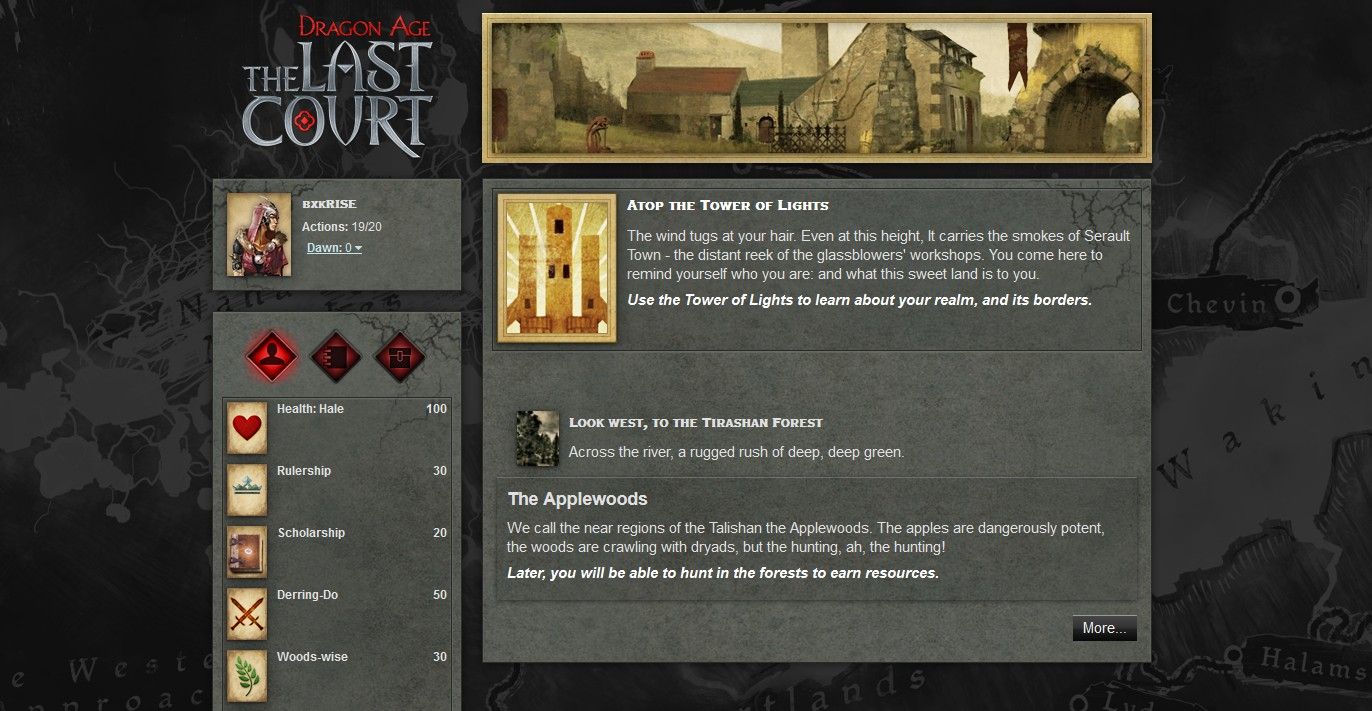 Dragon Age: The Last Court - Imagem 3 do software