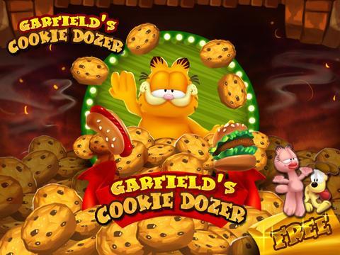Garfield Cookie Dozer - Imagem 1 do software