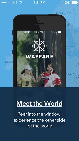 WAYFARE - meet the world - Imagem 1 do software