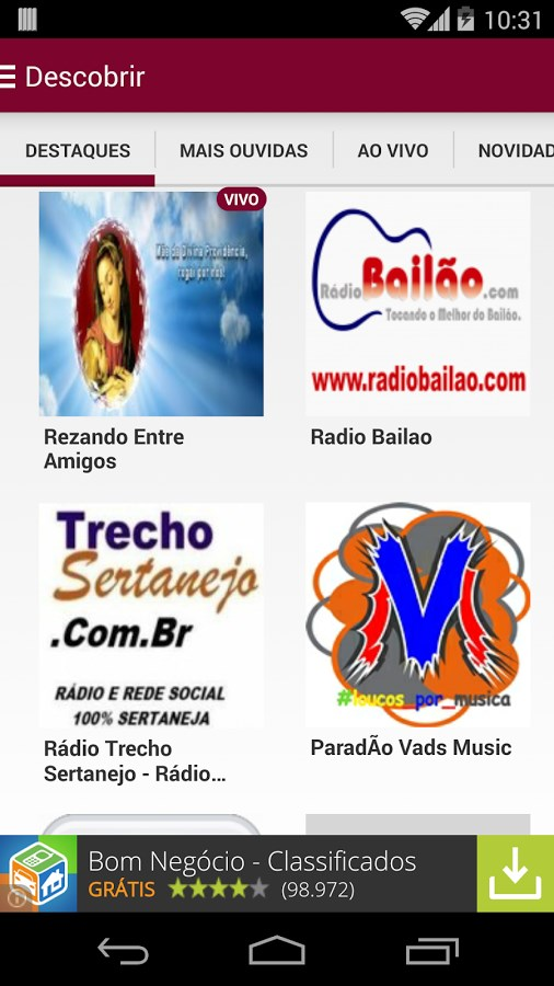 dyb.fm - Imagem 1 do software