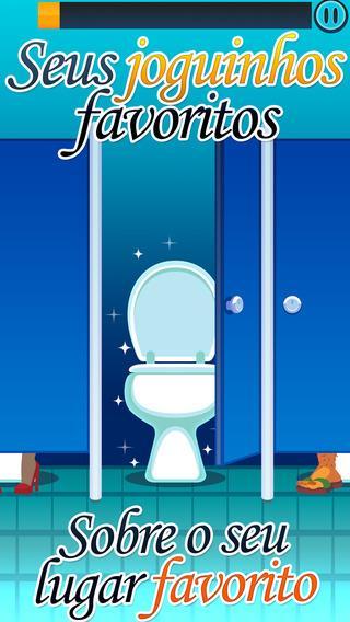 Toilet Time - Mini Jogos para Jogar no Banheiro - Imagem 1 do software
