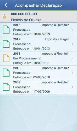 IRPF - Imagem 2 do software
