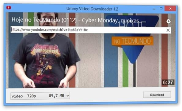 TÉLÉCHARGER UMMY VIDEO DOWNLOADER 1.6 GRATUIT