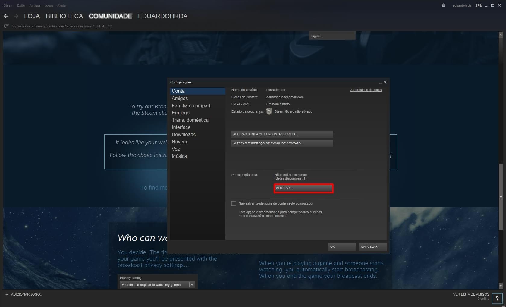 """""""Transmissões Steam"""": novo recurso da plataforma para streaming de jogos"""