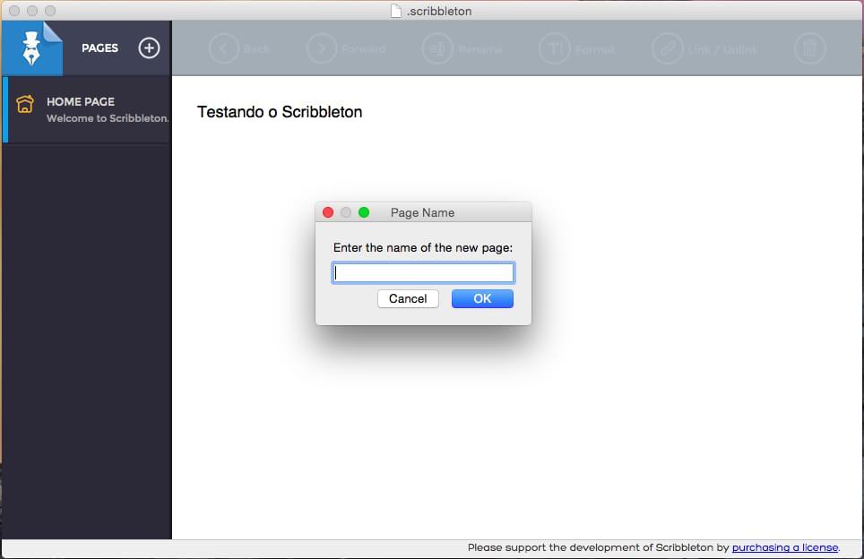 Scribbleton - Imagem 2 do software