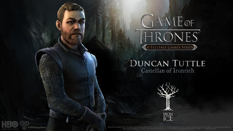 Veja os personagens de Game of Thrones: Iron From Ice