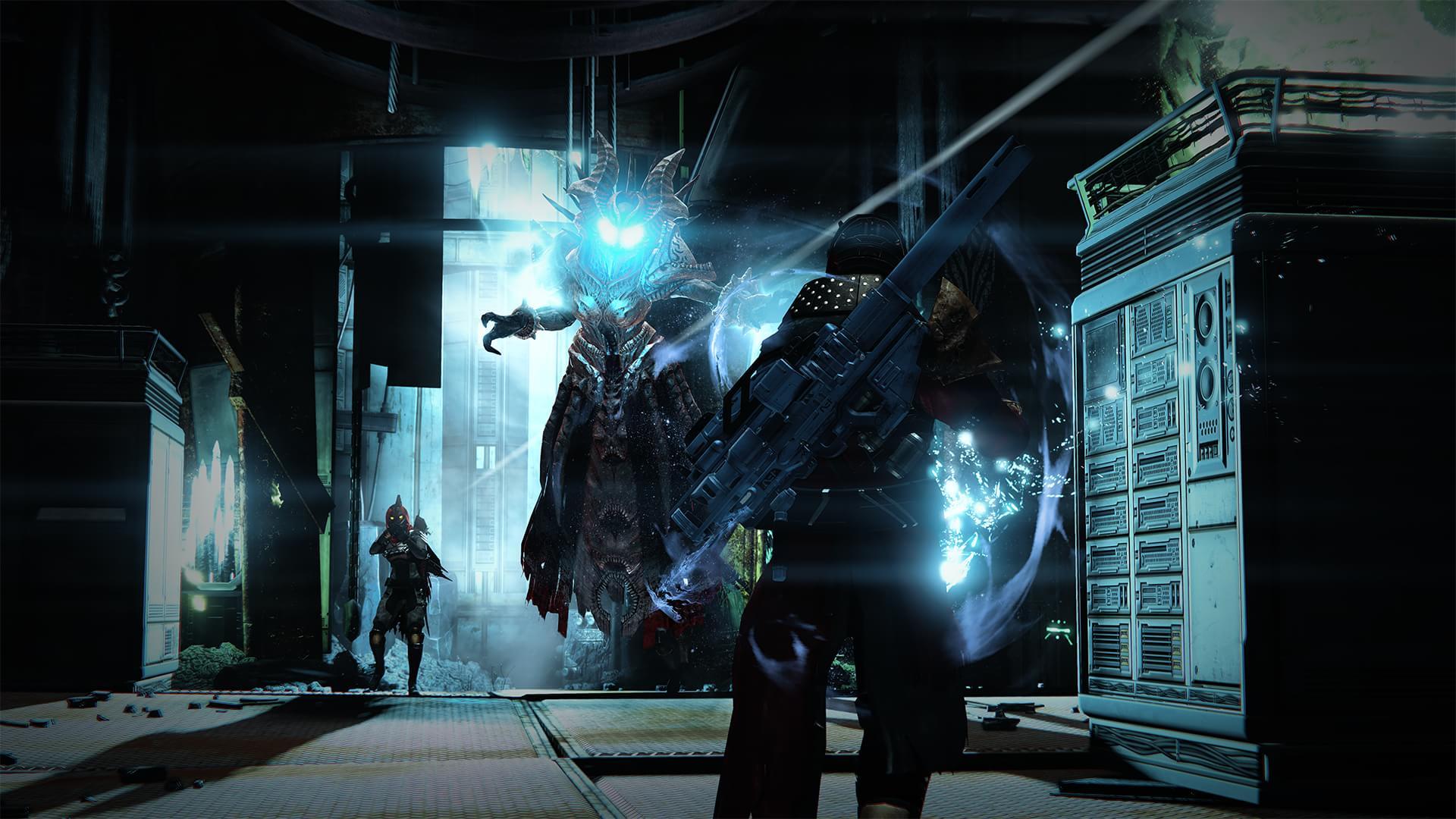 Confiar as novas imagens da primeira expansão de Destiny 'The Dark Below'