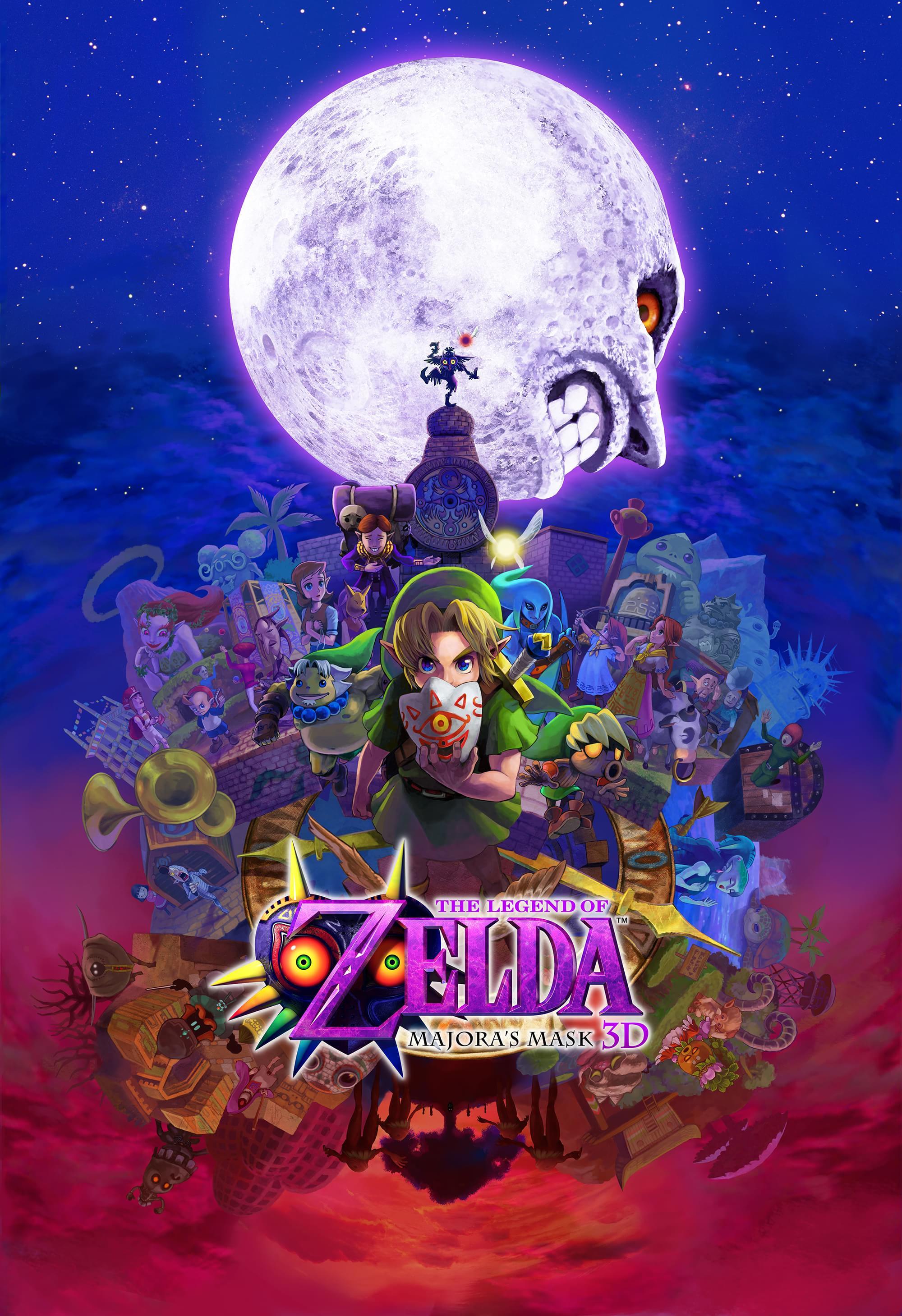 Confira as novas imagens de The Legend of Zelda: Majora's Mask 3D (3DS)