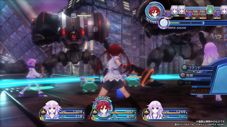 Veja agora as novas imagens de Hyperdimension Neptunia Victory 2 para PS4
