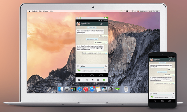 AirDroid - Android on Computer - Imagem 3 do software