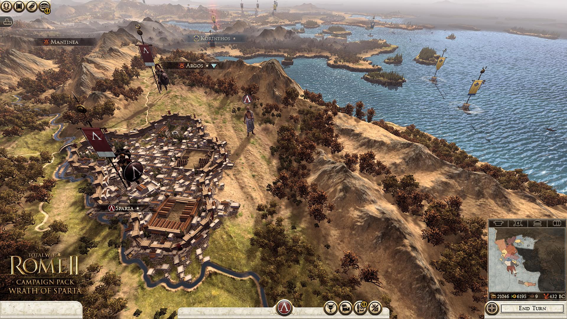 Creative Assembly anuncia expansão Wrath of Sparta para Total War: Rome II