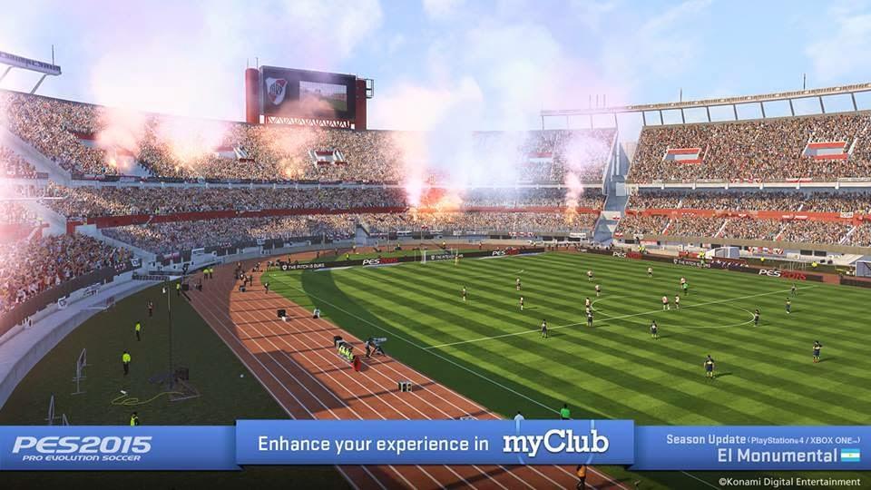 Atualização de PES 2015 traz Mineirão, Morumbi, novos times e estádios