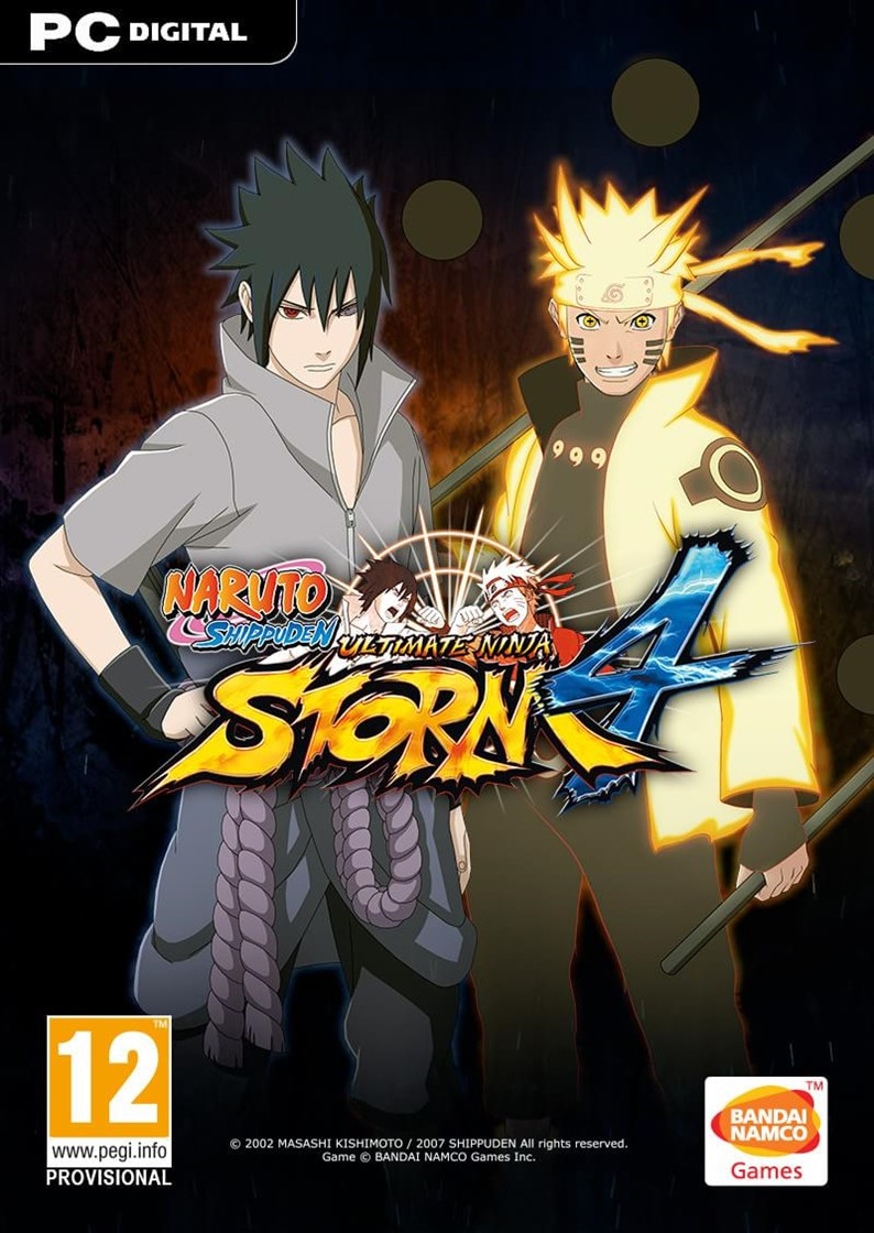 Resultado de imagem para NARUTO SHIPPUDEN Ultimate Ninja Storm 4 CAPA