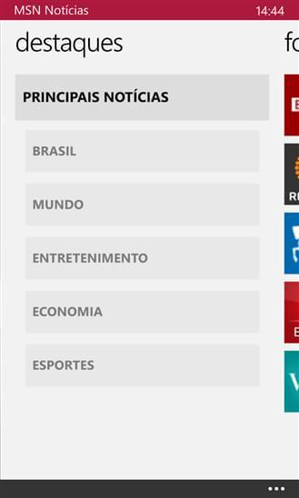 MSN Notícias - Imagem 1 do software