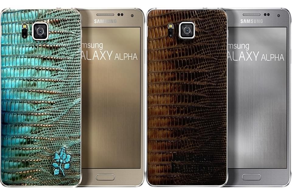 Samsung lança edição limitada do Galaxy Alpha com capa de couro na França