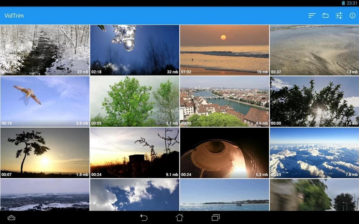 VidTrim - Video Editor - Imagem 1 do software