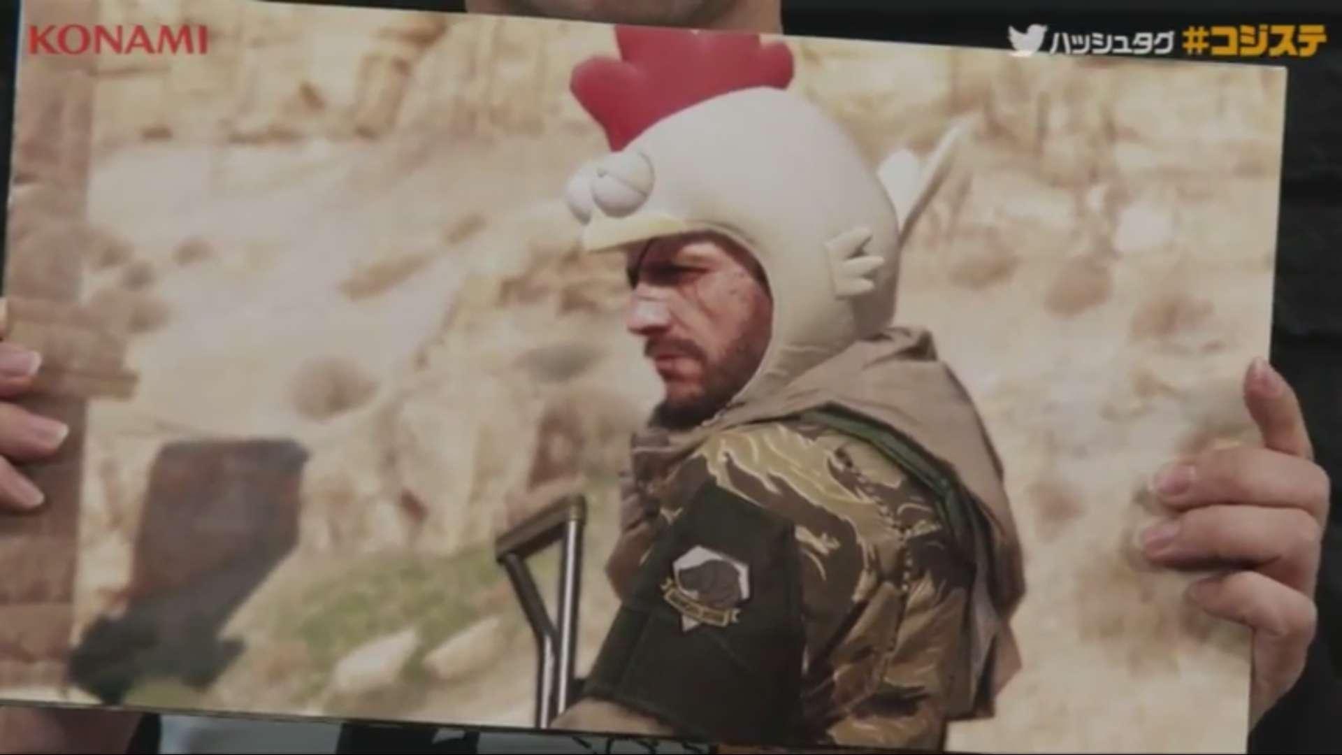Acredite: você poderá usar um chapéu de galinha em MGS V: The Phantom Pain