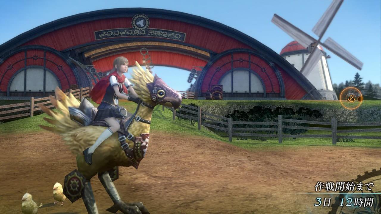 Novas imagens de FF Type-0 HD mostram batalhas e passeios com chocobos