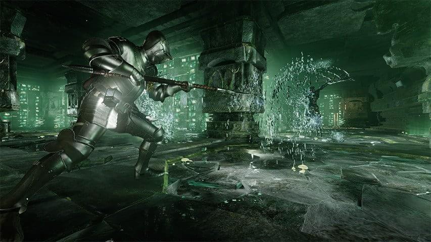 Deep Down: novas imagens revelam a temível masmorra de Green Dungeon