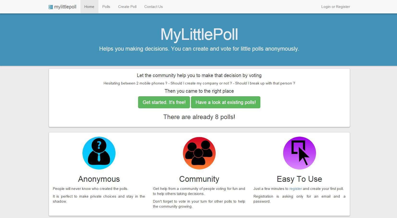MyLittlePoll - Imagem 1 do software