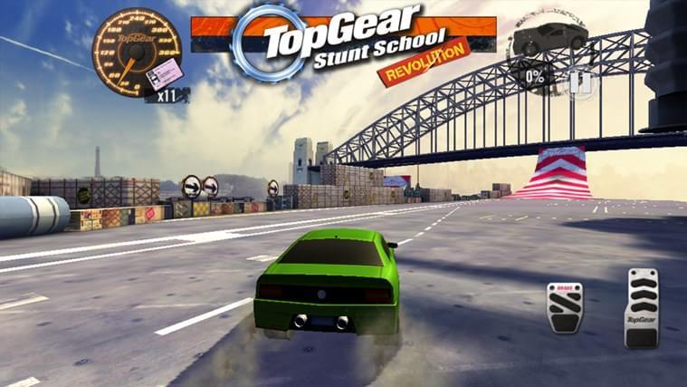 Top Gear: Stunt School Revolution - Imagem 1 do software