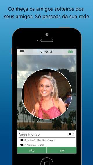 Kickoff - Conheça as pessoas que seus amigos conhecem - Imagem 1 do software