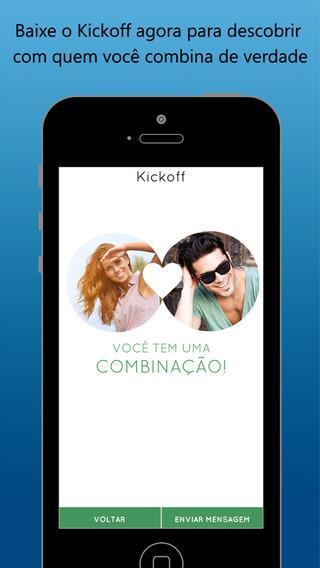 Kickoff - Conheça as pessoas que seus amigos conhecem - Imagem 2 do software