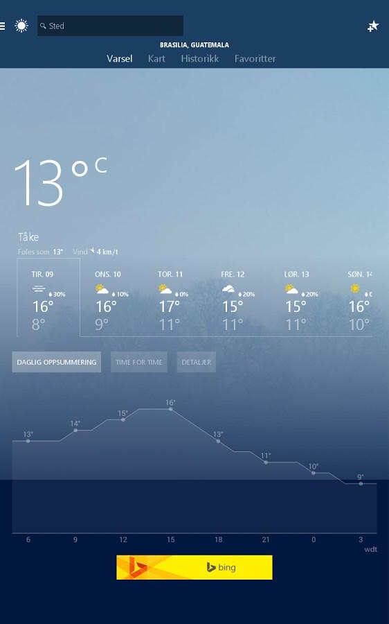 Weather - Imagem 1 do software