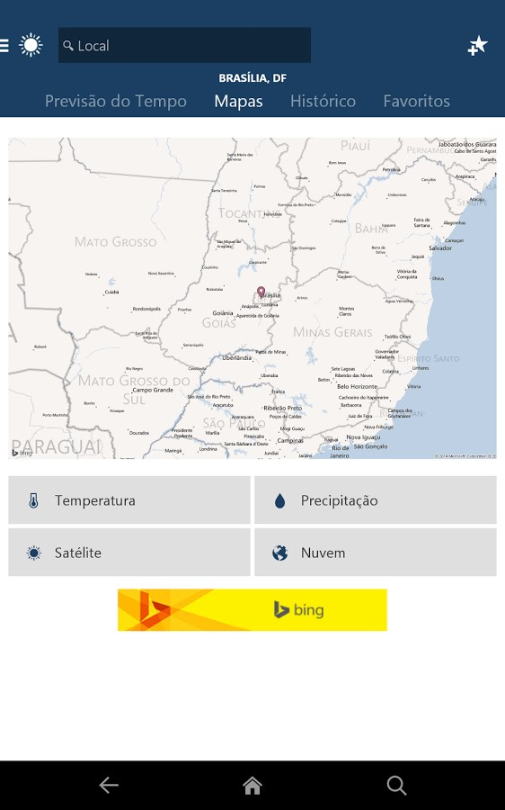 Weather - Imagem 2 do software